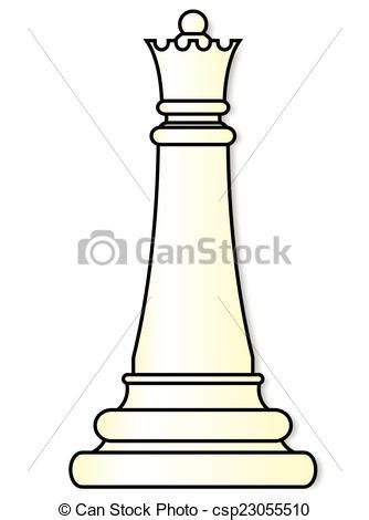 white queen queen chess piece   white background