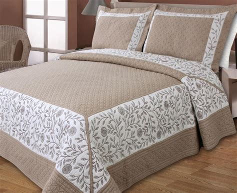 living ribbon patchwork embroidered duvet cover setkingsize new european styles cotton brown classical embroidery quilting bed cover air conditioning