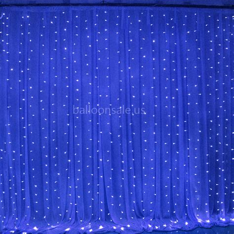 cheap 300led blue outdoor fairy curtain lights wedding