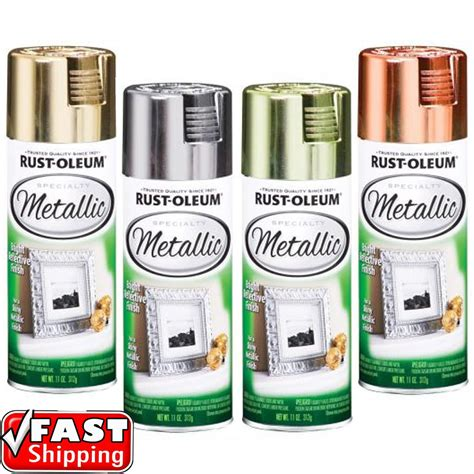how to paint a brass l rust oleum metallic silver gold brass copper 312g spray