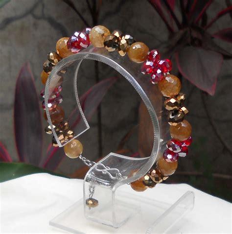 Gelang Batu Orange Agate 7 8mm liz collection gelang batu bracelet dan