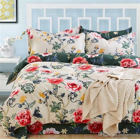floral queen comforter 20 styles bed sheet luxury 3d print floral bedding sets