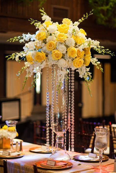 17 Best ideas about Yellow Centerpieces on Pinterest
