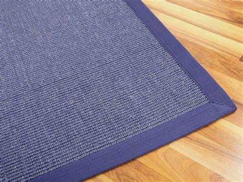 teppiche blau sisal astra natur teppich blau bord 252 re blau teppiche sisal