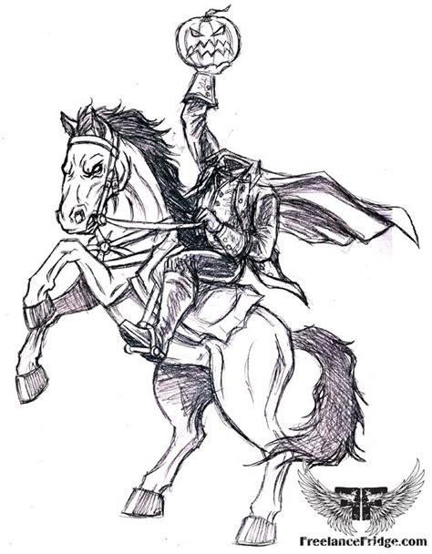 halloween coloring pages headless horseman headless horseman coloring pages coloring pages