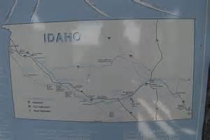 oregon trail idaho map oregon trail through idaho flickr photo