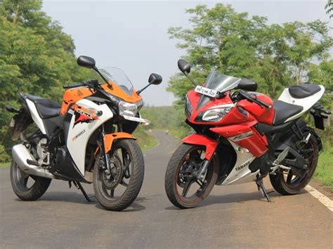 cbr 150rr price in india comparison of yamaha r15 and honda cbr150r cbc