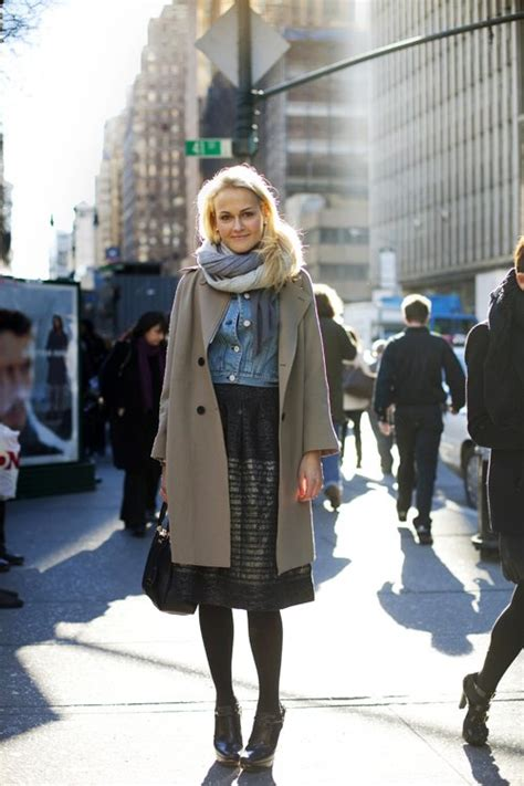 The At Ny Fashion Week With The Sartoralist by On The New York Look Nyc 171 The Sartorialist