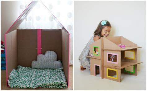 come fare mobili di cartone giochi fai da te con il cartone 12 fantastiche idee per i