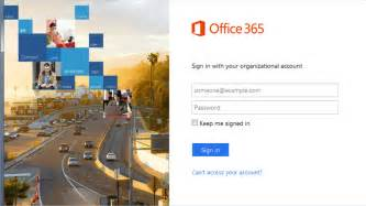 Office 365 Business Email College Of Business Lifetime Email Identification Page