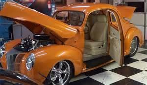 Orange Auto Upholstery 1940 Ford Street Rod Pro Auto Custom Interiors Youtube