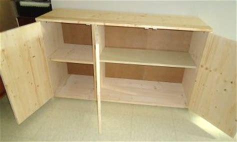 tutoriel comment fabriquer un meuble en sapin
