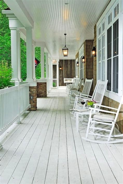 white plank floor cottage porch