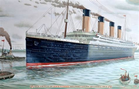 titanic boat in water wallpaper titanic titanic water waste day boats the