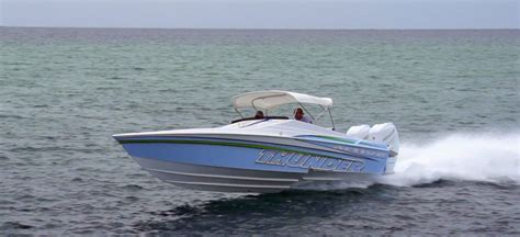 thunder in paradise boat for sale active thunder s first 29 savage sport boat