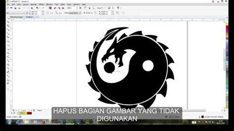 tutorial coreldraw membuat logo nike tutorial membuat logo dengan corel draw x7 youtube