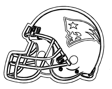 coloring pages for new england patriots football helmet patriots new england coloring pages