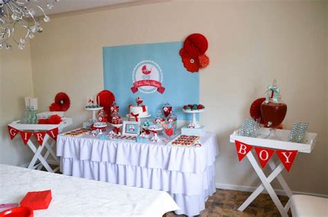 Gender Neutral Baby Shower Decoration Ideas by Kara S Ideas Baby Carriage Gender Neutral Boy