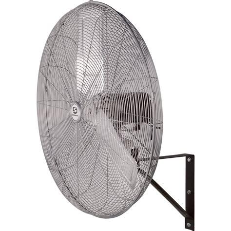 wall mount shop fan strongway oscillating wall mounted fan 30in 7500 cfm
