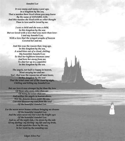 Edgar Allan Poe Biography Annabel Lee | annabel lee by edgar allan poe pilar221b