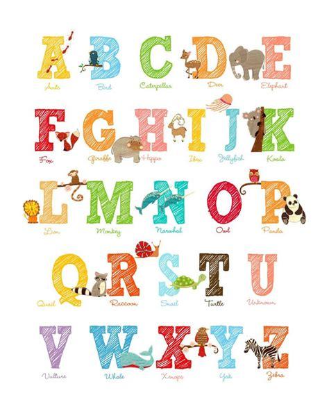 printable alphabet poster best 25 alphabet letters to print ideas on pinterest