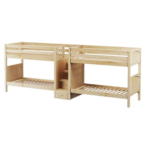 quadruple bunk bed maxtrixkids cool np medium high quadruple bunk bed