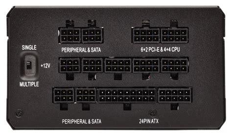 corsair hx series hx850 850 watt 80 plus 174 platinum certified fully modular psu cp 9020138