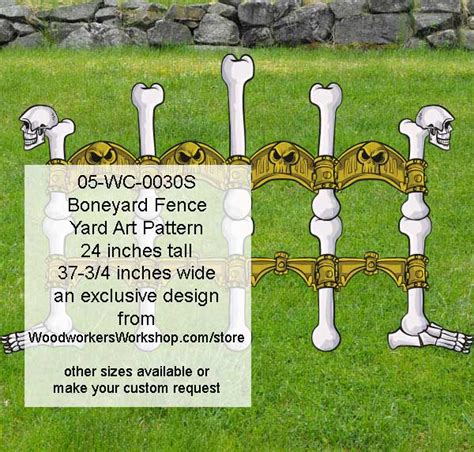 woodworking patterns yard 05 wc 0030s boneyard fence yard