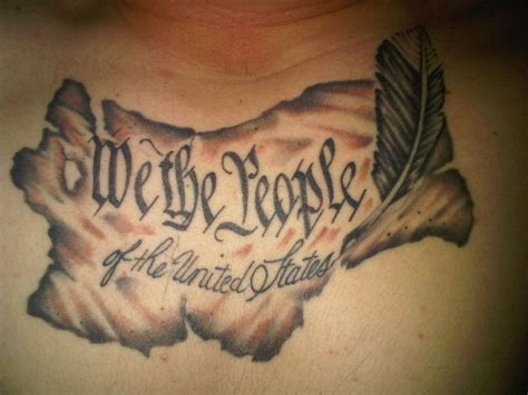 we the people tattoo we the ideas