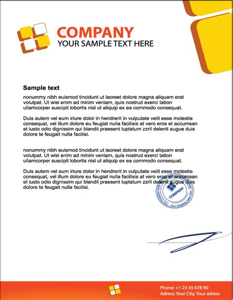what should business letterhead look like what does business letterhead look like 28 images 10