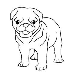 pug coloring pages pug pug puppy coloring page coloring 2