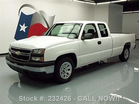 sell used 2006 chevy silverado work truck ext cab longbed tow 55k texas direct auto in stafford sell used 2006 chevy silverado work truck ext cab longbed