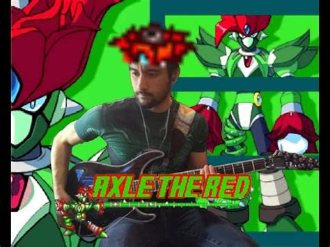 theme song exles axle the red into the jungle mega man x5 guitar cover