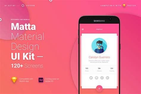 material design ui inspiration 40 outstanding user profile ui designs web graphic
