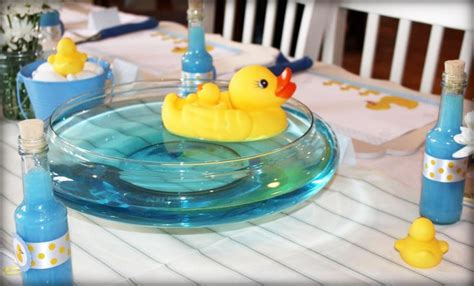 Yellow Duck Baby Shower Decorations by Yellow Rubber Ducky Baby Shower Quack Plan Me Pretty
