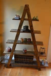 cascade ladder shelf by reclaimerdesign on etsy