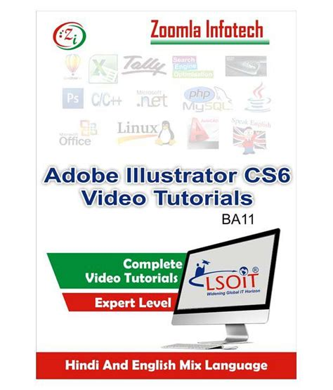 adobe illustrator cs6 language pack adobe illustrator cs6 video tutorials by zoomla infotech