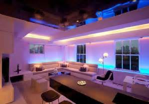 Led Interior Home Lights Modern Apartment Furniture Design Interior Decor And Mood Lighting