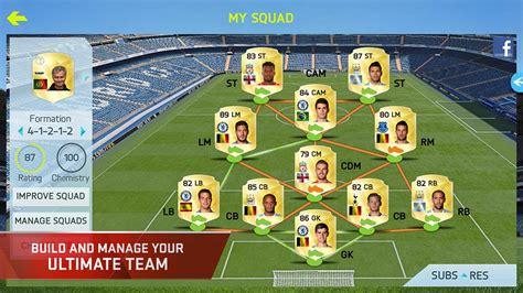 game mod apk fifa 15 download fifa 15 ultimate team v 1 6 1 apk pateks info