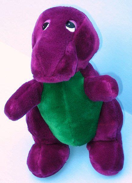 barney and the backyard gang doll barney the backyard gang first edition ever plush doll