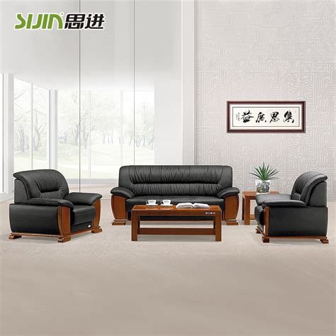wood frame leather sofa sijin wood frame leather sofa sle design