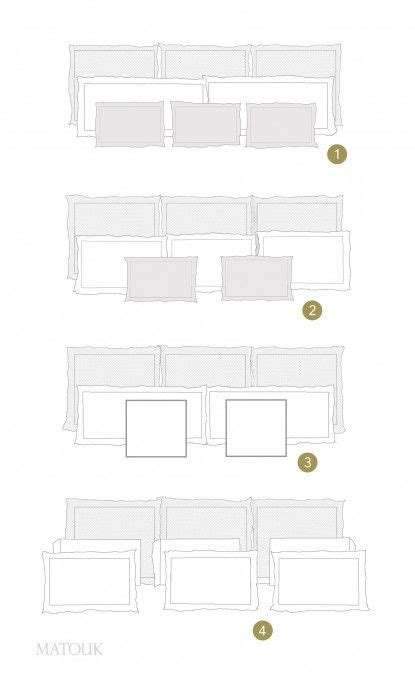 how to arrange pillows on king bed styling your bed is easy with our pillow formations chart