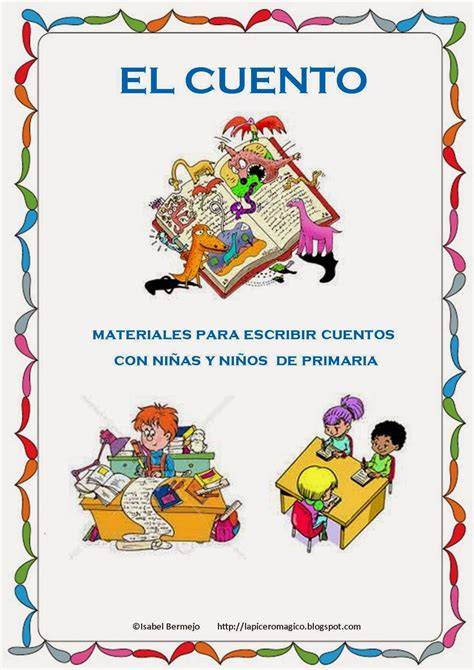 cuentos de primaria para imprimir lapicero m 193 gico el cuento materiales para escribir