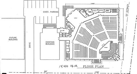 Church Plan 147 Lth Steel Structures Church Buildings Modern Church Floor Plans Designs