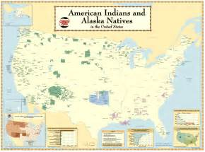 map of american tribes in america indian reservations in the us today humanities 7