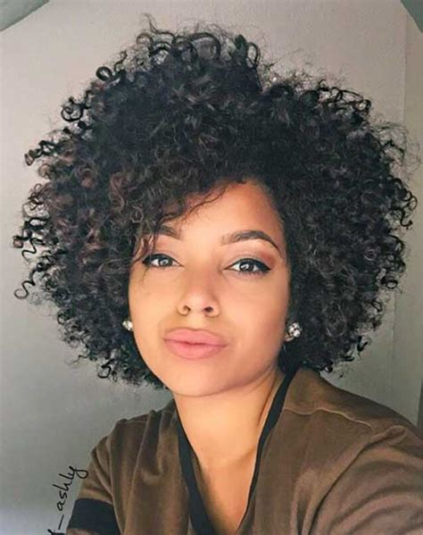 how to bring out curls in black hair very pretty short curly hairstyles you will love short
