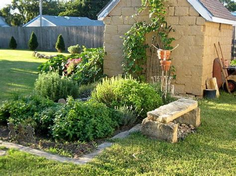 Herb Garden Layout Ideas Small Herb Garden Design Gorgeous Garden Pinterest