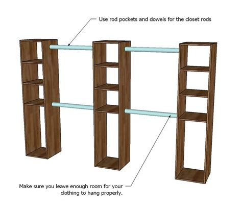 Free Standing Wardrobe Closet Plans by 25 Best Ideas About Free Standing Shelves On