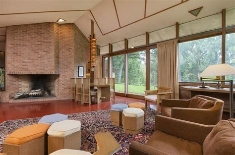 frank lloyd wright interiors the olfelt house by frank lloyd wright on sale for first