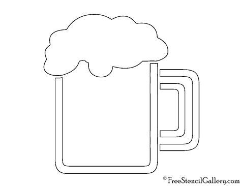 printable stencils for mugs beer mug stencil free stencil gallery